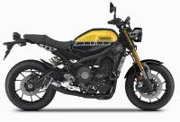 Zard - ZARD 3>1 STEEL FULL KIT RACING WITH REMOVABLE DB KILLER: Yamaha XSR 900