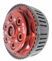 EVR - EVR Ducati CTS Slipper Clutch Complete with 48T Organic Plates and Basket[Latest Style]