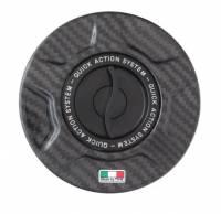TWM - TWM Quick Action Carbon Fiber Fuel Cap: Ducati Panigale [All] / Streetfighter 848-1098 / Diavel / M696-796-1100 /Scrambler / V4/Streetfighter