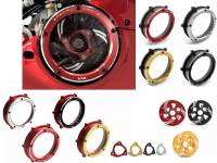 Clutch - Pressure Plates - Ducabike - Ducabike Clear Wet Clutch Cover Kit: Clear Cover, Pressure Plate & Pressure Plate Ring For Ducati Panigale V4/S