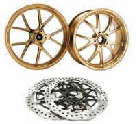 Marchesini - MARCHESINI Forged Magnesium Wheels and Brembo T-Drive Rotors Combo: Ducati Panigale 1199-1299-V4-S/R, SF V4-V4S [In Stock]