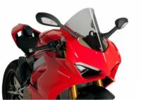 Puig - Puig Racing Windscreen Ducati Panigale V4/S [Light Smoke] '18-19