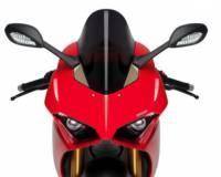Body - Windscreens - Puig - Puig Racing Windscreen Ducati Panigale V4/S [Blue] '18-19