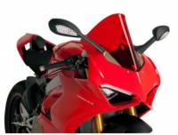 Body - Windscreens - Puig - Puig Racing Windscreen Ducati Panigale V4/S [Red] '18-19