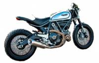 Spark - Spark Ducati Scrambler Slip-on: Evo V Stainless Steel, Made in Italy - Image 3