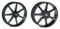 "BST Wheels - 7 Spoke Wheels - BST Wheels - BST 7 TEK CARBON FIBER WHEEL SET [6.0"" REAR]: SUZUKI HAYABUSA '99-'07"