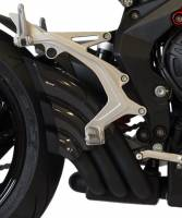 Exhaust - Full Systems - HP Corse - HP CORSE HYDROTRE BLACK CERAMIC COATED STEEL SLIP ON EXHAUST: MV AGUSTA BRUTALE 675/800/RR [ '12-16 ]