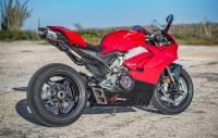 "BST Wheels - BST Rapid Tek Carbon Fiber 5 Split Spoke Wheel Set: Ducati Panigale 1199-1299-V4-V2, SF V4 [5.5"" Rear] - Image 24"