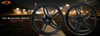 "BST Wheels - BST Rapid Tek Carbon Fiber 5 Split Spoke Wheel Set: Ducati Panigale 1199-1299-V4-V2, SF V4 [5.5"" Rear] - Image 23"