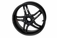 "BST Wheels - BST Rapid Tek Carbon Fiber 5 Split Spoke Wheel Set: Ducati Panigale 1199-1299-V4-V2, SF V4 [5.5"" Rear] - Image 16"