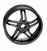 "BST Wheels - BST Rapid Tek Carbon Fiber 5 Split Spoke Wheel Set: Ducati Panigale 1199-1299-V4-V2, SF V4 [5.5"" Rear] - Image 15"