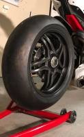 "BST Wheels - BST Rapid Tek Carbon Fiber 5 Split Spoke Wheel Set: Ducati Panigale 1199-1299-V4-V2, SF V4 [5.5"" Rear] - Image 10"