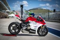 "BST Wheels - BST Rapid Tek Carbon Fiber 5 Split Spoke Wheel Set: Ducati Panigale 1199-1299-V4-V2, SF V4 [5.5"" Rear] - Image 8"