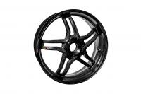 "BST Wheels - BST Rapid Tek Carbon Fiber 5 Split Spoke Wheel Set: Ducati Panigale 1199-1299-V4-V2, SF V4 [5.5"" Rear] - Image 3"
