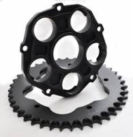 Drive Train - Rear Sprockets - SUPERLITE - SUPERLITE Quick Change Sprocket Carrier: 748-998/ S2R 800/ MH900e [Black Only]