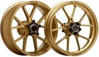 Wheels & Tires - Marchesini - Marchesini - MARCHESINI Forged Magnesium Wheelset: Kawasaki Z1000 07-10
