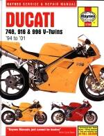 Books - HAYNES Ducati 4V Service & Repair Manual