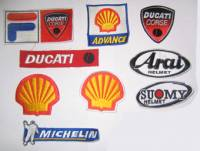 Stickers, Patches, & Toys - Patches - Patches - Ducati Patch Set: Corse