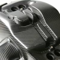 EVR Carbon Fiber Air Box with Intake Tubes: 1098R/1198R