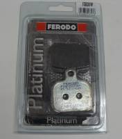 FERODO PLATINUM Organic Rear Brake Pads: Brembo Late Rear Caliper