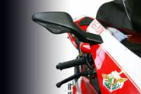 Body - Mirrors - Oberon - OBERON Mirror Extender Kit : Ducati 1098/1198/848