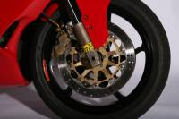 OZ Motorbike Piega Forged Aluminum Wheel Set: Ducati 851-888, 91-94 SS900 91-98/ 20mm Front Axle