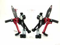 Ducabike - Ducabike Adjustable Rear Sets: M696 / M796 / M1100 - M1100 EVO [Folding Pegs/CF Heel guards] - Image 3