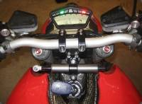 Ducabike Adjustable Risers: Streetfighter