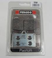 FERODO PLATINUM Organic Front Brake Pads: Brembo Single Pin