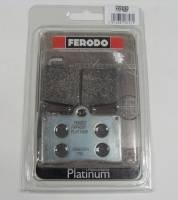 Ferodo - FERODO PLATINUM Organic Front Brake Pads: Brembo Single Pin[Single Pack] - Image 6