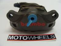 BREMBO Hard Anodized 84mm Mount CNC 2 Piece Rear Caliper