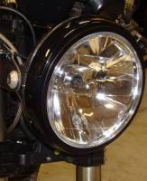 CORSE DYNAMICS 7 Inch Headlight With Adapter Ring