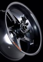OZ Motorbike Piega Forged Aluminum Rear Wheel: Kawasaki ZX6R, ZX-6RR, 636 '05-'15