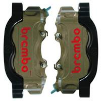 BREMBO Hard Anodized Radial 2 Piece Calipers: Yamaha R1