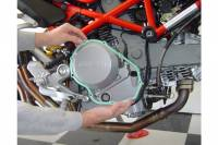 EXACTFIT - ExactFit Oil/Clutch Engine Cover Gasket