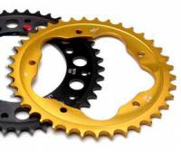 Drive Train - Rear Sprockets - Driven - DRIVEN Aluminum 520 Pitch Quick Change 40T Sprocket: S2R / S4R / M796 / M1100 / MTS1000 / MTS1100 / MH900E / 748-998 / 848 / Hyper