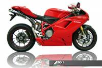Exhaust - Full Systems - Zard - ZARD 2-1-2 SS/CF Full System: 1098R / 1198 / 1198S / 1198R