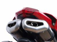 Zard - ZARD PENTA STEEL-CARBON RACING SILENCERS WITH REMOVABLE DB KILLER: 848/1098/1198 - Image 1