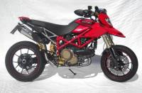 Exhaust - Full Systems - Zard - ZARD 2-1 SS/SS Full System Homologated: Hypermotard 1100 EVO