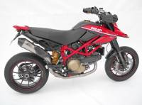 Exhaust - Full Systems - Zard - ZARD 2-1 TI/TI Full System Homologated: Hypermotard 1100 EVO