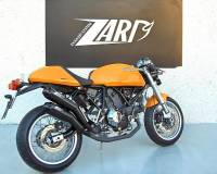 ZARD Over-Under Black SS Slip-ons Homologated: Sport 1000/ Paul Smart