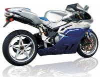 Exhaust - Full Systems - Zard - ZARD 4-2-1-2 SS/CF Full System: MV Agusta F4 1000/ Tamburini