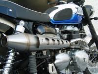 Zard - ZARD High Mount 2-1 SS/SS Full System: Triumph Scrambler Carburetor - Image 3