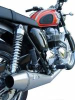 ZARD Low Mount 2-1 SS/SS Full System: Triumph Bonneville Carburetor