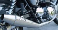 Zard - ZARD Low Mount 2-1 SS/SS Full System: Triumph Bonneville Carburetor - Image 2