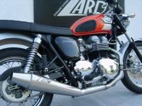 Zard - ZARD Low Mount 2-1 SS/SS Full System: Triumph Bonneville Carburetor - Image 4