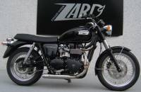 ZARD Low Mount Cross 2-1 SS/SS Full System: Triumph Bonneville 05-06