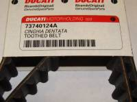 DUCATI OEM Timing Belt: 749 / 999 / 998 / 996R / Monster S4RS / Monster S4R  [Sold Individually]