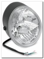 Electrical, Lighting, & Gauges - Headlights - Motowheels - Retro style custom headlight