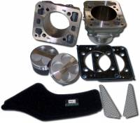 Engine & Performance - Engine Internal - EVR - EVR Ducati 748 853cc Big Bore Kit with Cylinders, Pistons, Seals, Eprom, Filters, and Intake Grills